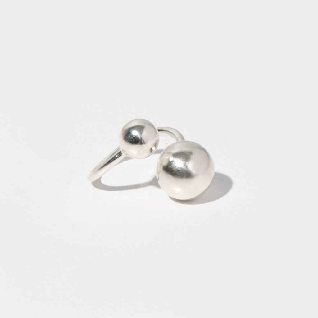 MULXIPLY Strength Adjustable Ring in Sterling Silver