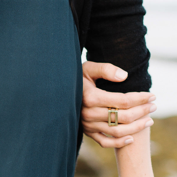 Foundation Ring | Brass or Sterling