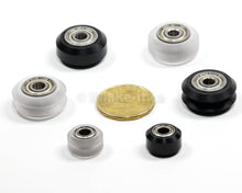Load image into Gallery viewer, Xtreme Mini V Wheel Assembly Kit Includs Two Ball Bearings One Nylon Lock Nut