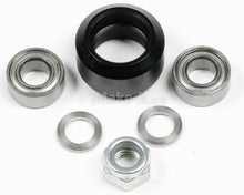 Load image into Gallery viewer, Mini V Wheel Assembly Kit Includs Two Ball Bearings One Nylon Lock Nut