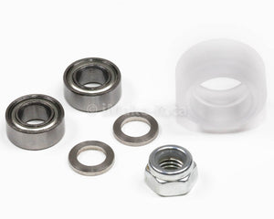 Xtreme Mini V Wheel Assembly Kit Includs Two Ball Bearings One Nylon Lock Nut
