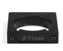 Load image into Gallery viewer, Aluminum Router Spindle Mount Black Anodized 71mm