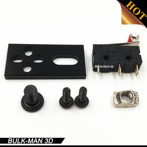 CNC Micro Limit Switch Kit with Mounting Plate for 3D printer, OX CNC, Workbee and other CNC Router Machine