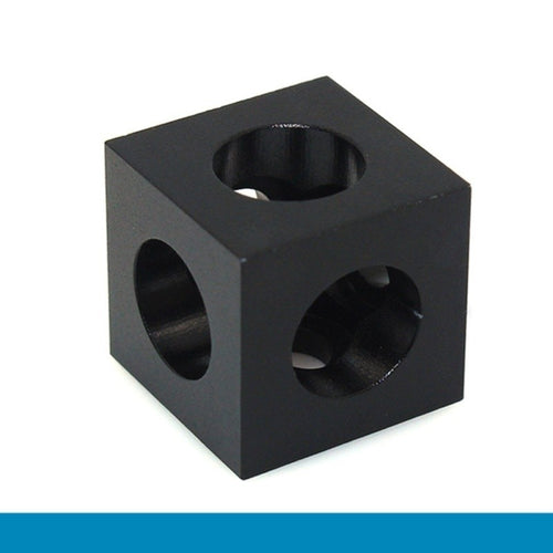 3D Printer Openbuilds V slot Three Corner Cube Corner Prism Connector Adjustable Wheel Bracket