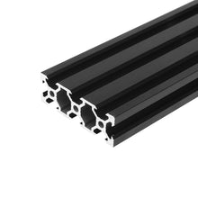 Load image into Gallery viewer, 2060 V-Slot Linear Rail Extrusion Aluminum Profile Black Anodized 6063