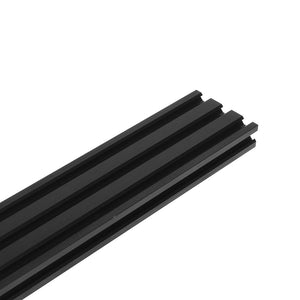 2060 V-Slot Linear Rail Extrusion Aluminum Profile Black Anodized 6063