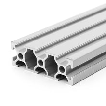Load image into Gallery viewer, 2060 V-Slot Linear Rail Extrusion Aluminum Profile Silver Anodized 6063
