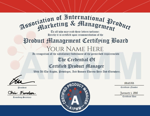 cpm manager marketing certified management exam association international aipmm certification accredible agile course