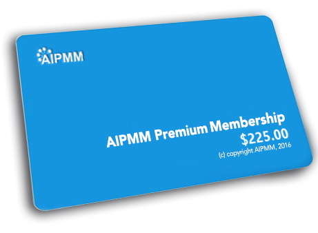 AIPMM Basic Membership Upgrade To Premium Membership