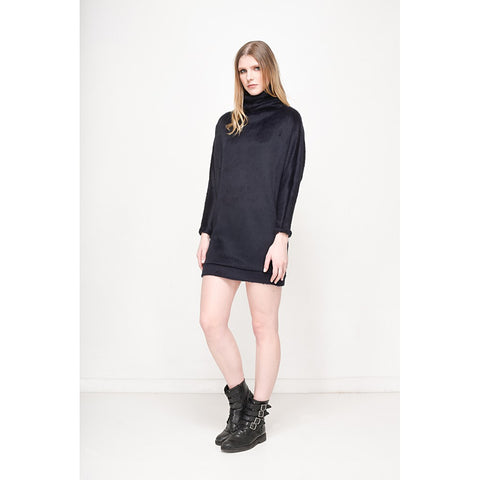 Faux fur Ribe dress