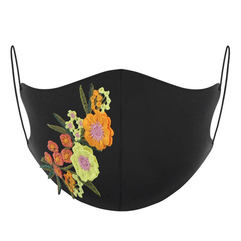 3 Packs Embroidery Reusable Face Mask
