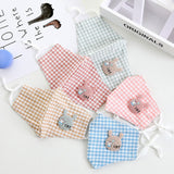 Children Cotton Face Mask with Cute Cat Patchwork