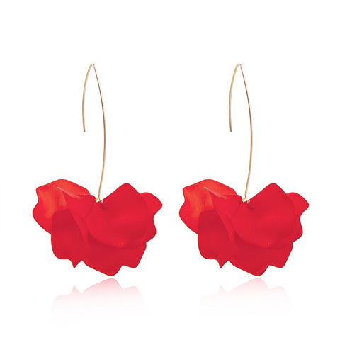 Lovely Floral Drop Earrings