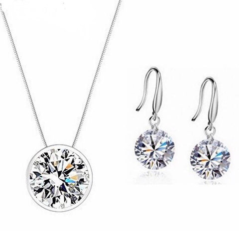 925 Sterling Silver Classic Jewelry Sets