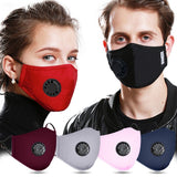 High Quality Unisex Reusable Face Mask and Removable Filter
