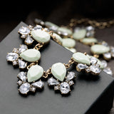 Elegant Vintage Resin Collar Necklaces (Out of Stock)