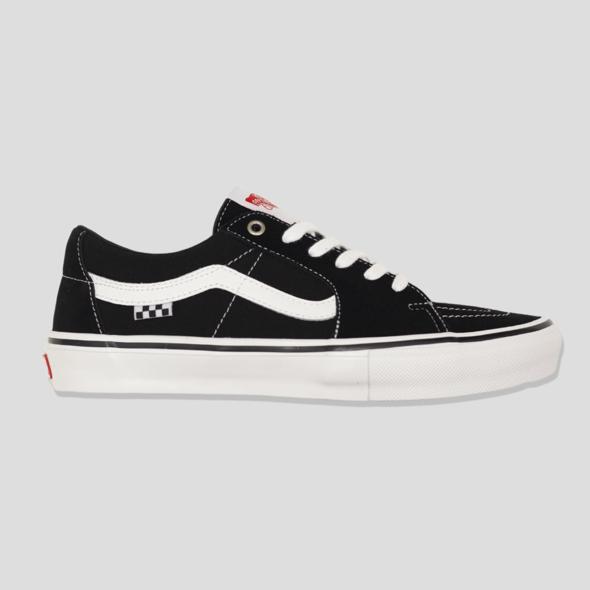"VANS ""SKATE SK8-LOW"" SHOE BLACK/WHITE"