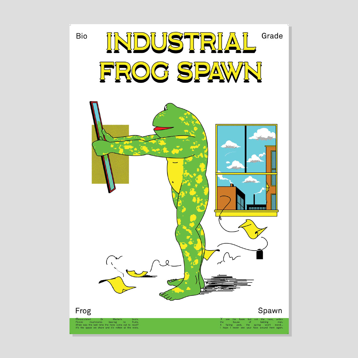 INDUSTRIAL FROG SPAWN 2021