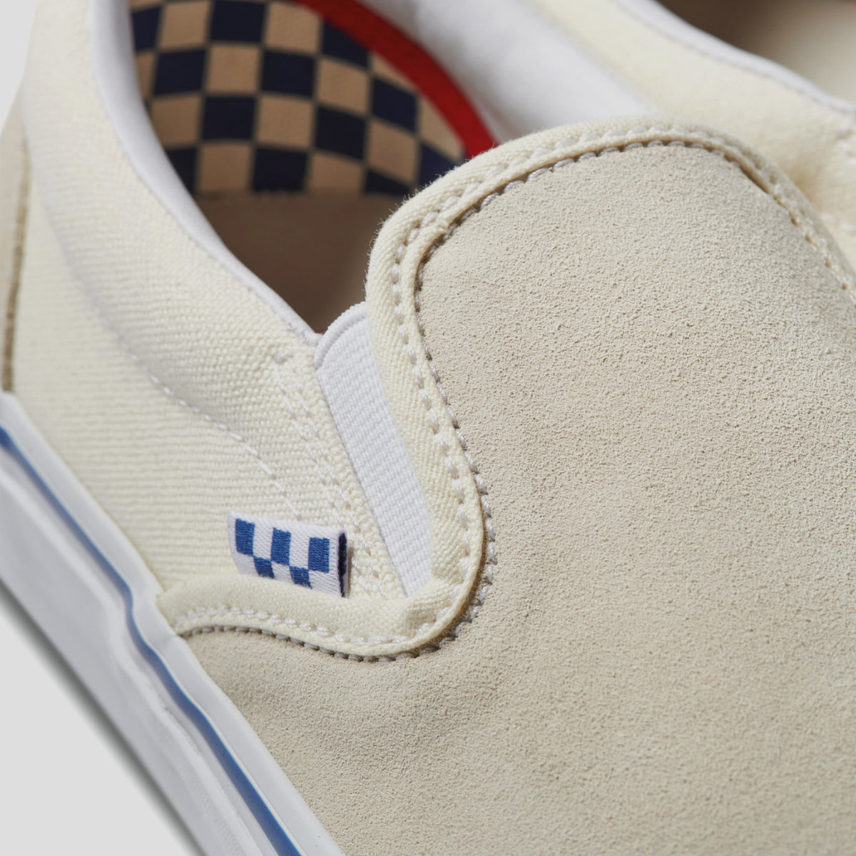 "VANS ""SKATE SLIP-ON"" SHOE OFF WHITE"