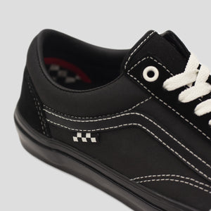 "VANS ""SKATE OLD SKOOL"" SHOE BLACK/BLACK"