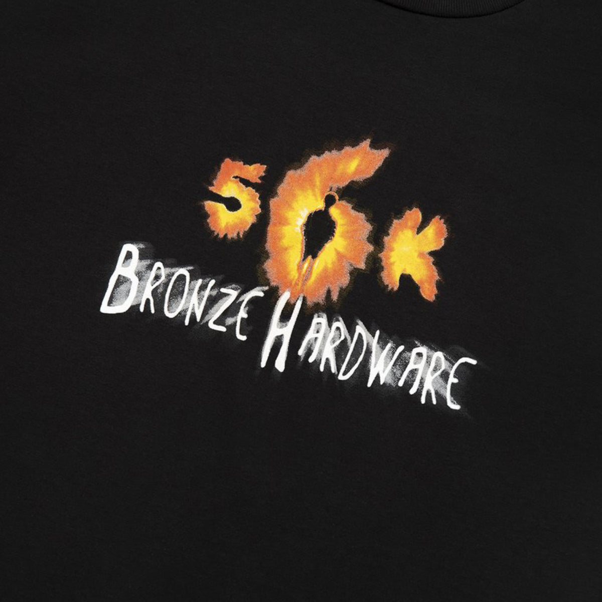 "BRONZE 56K ""FIFTY SIXTH SENSE"" TEE BLACK"