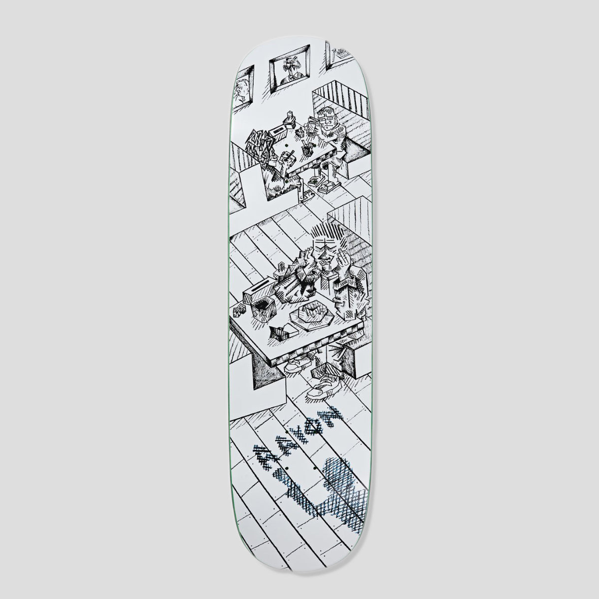 "POLAR SKATE CO. AARON HERRINGTON ""DINER"" DECK"