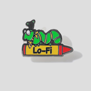 "LO-FI ""ARTS & CRAFTS"" PIN"