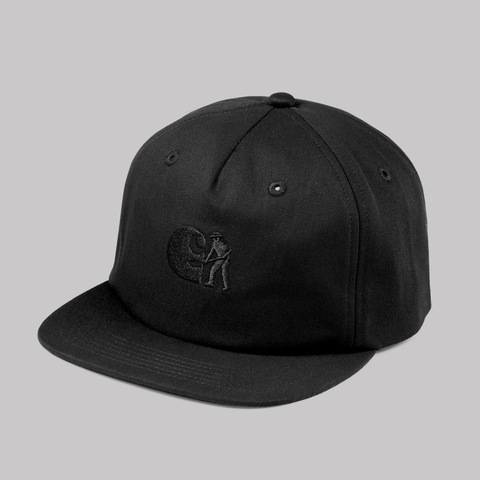 CARHARTT WIP & PASS~PORT CAP BLACK