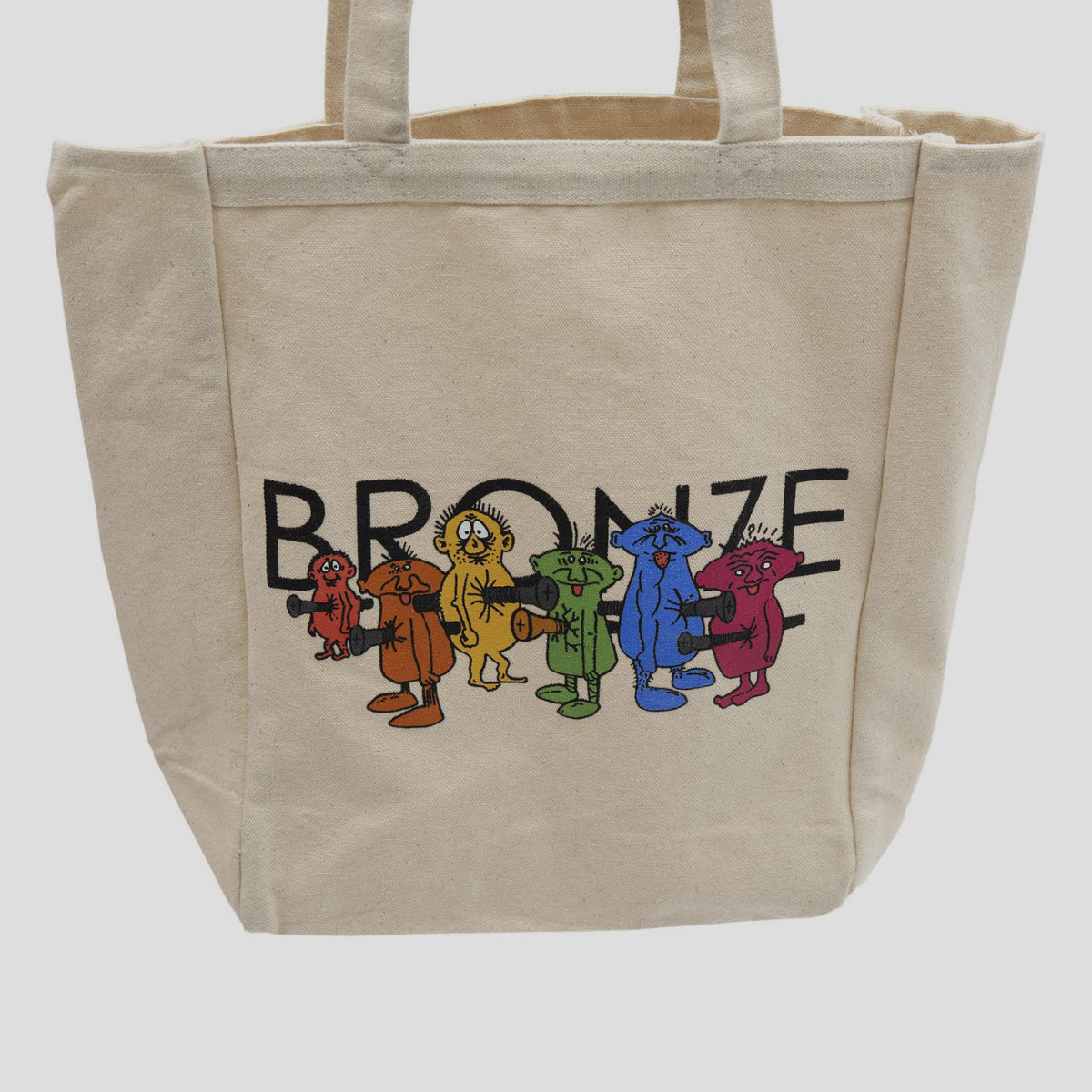 "BRONZE 56K ""BOLT BOYS"" TOTE BAG"