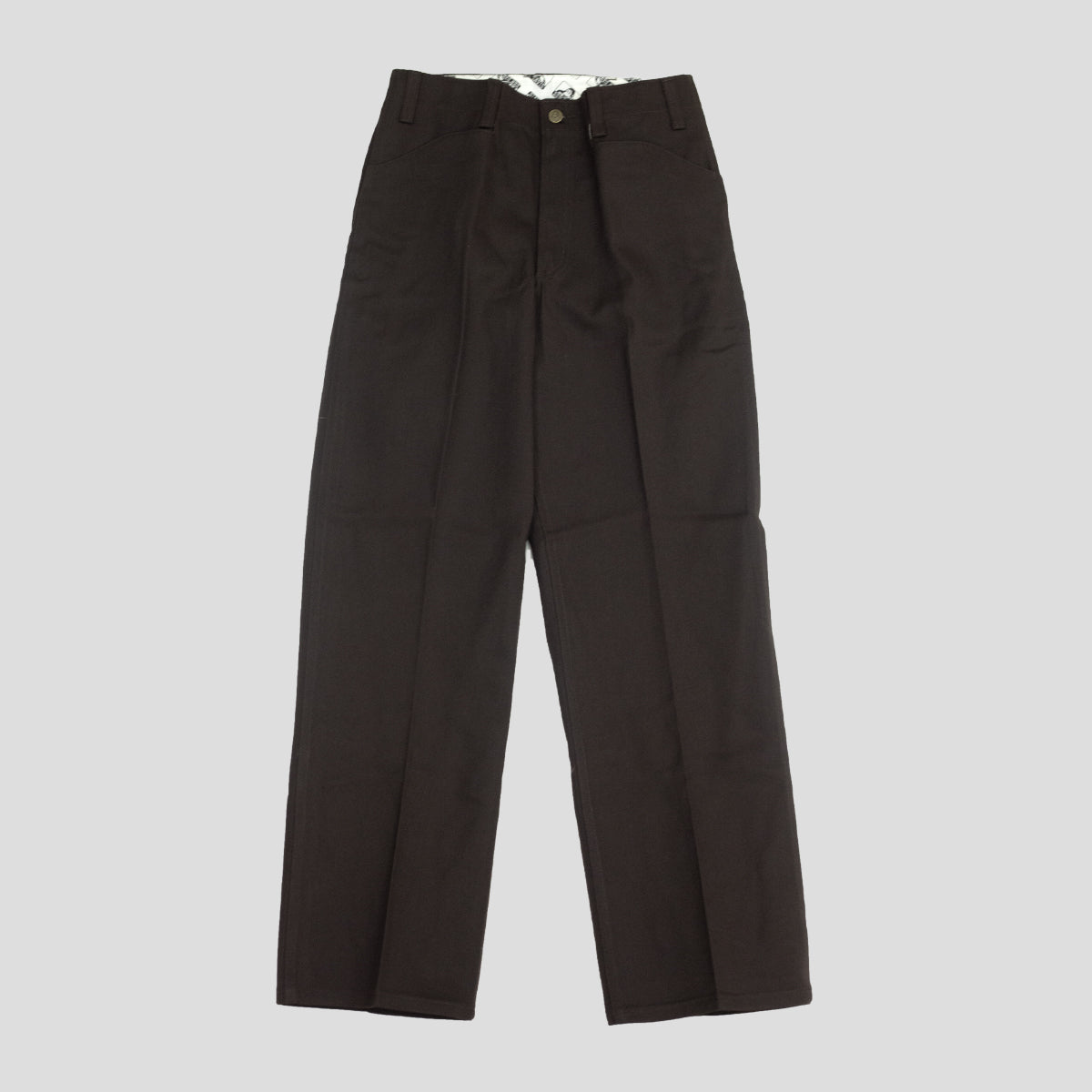 "BEN DAVIS ""ORIGINAL BENS"" PANT BROWN"