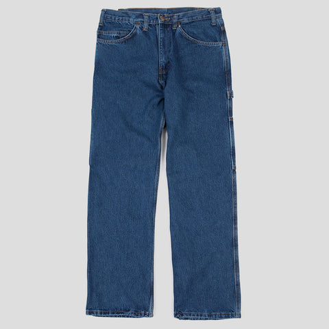"BEN DAVIS ""CARPENTER"" PANT WASHED INDIGO DENIM"