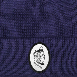 "PASS~PORT TOBY ZOATES ""COPPERS"" BEANIE NAVY"