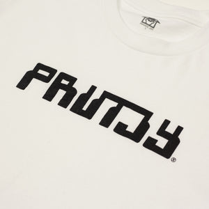 "PRIVATE JOY ""CABLE"" TEE WHITE"