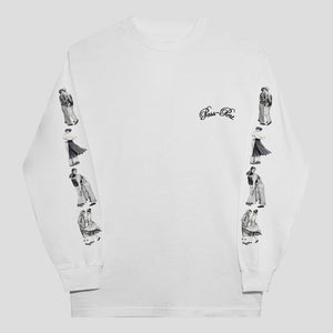 "PASS~PORT ""DANCERS"" L/S TEE WHITE"