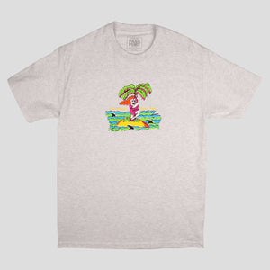 "PASS~PORT TOBY ZOATES ""DARLING"" TEE ASH"