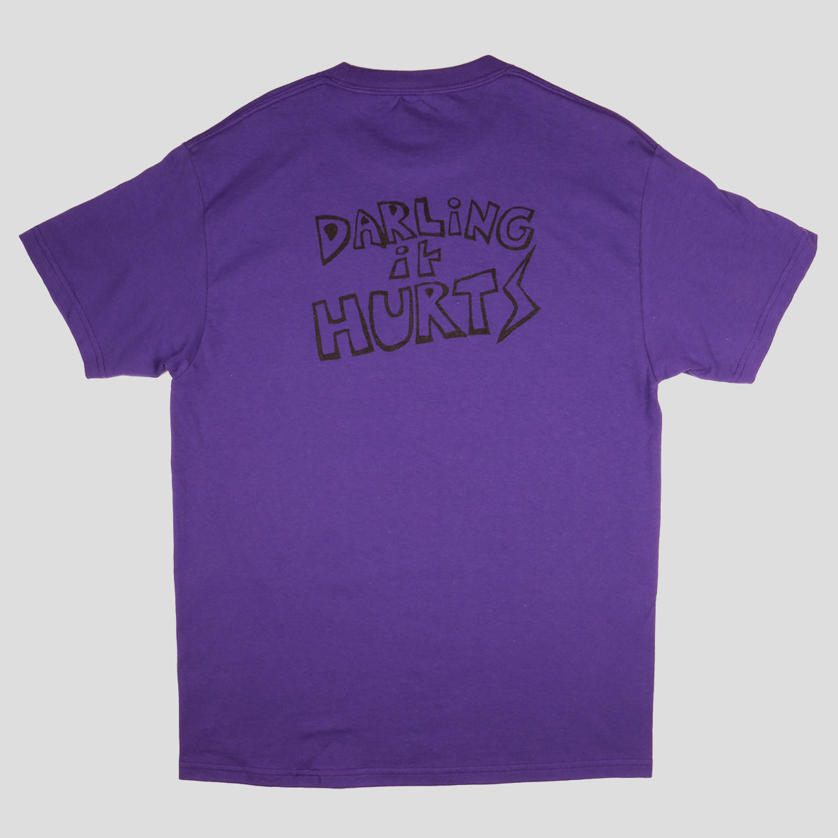 "PASS~PORT TOBY ZOATES ""DARLING"" TEE PURPLE"