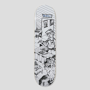 "POLAR SKATE CO. DANE BRADY ""BISTRO"" DECK 8.25"""