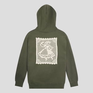 "PASS~PORT ""DOILY DANCER"" HOOD ARMY"