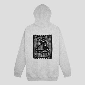 "PASS~PORT ""DOILY DANCER"" HOOD GREY HEATHER"