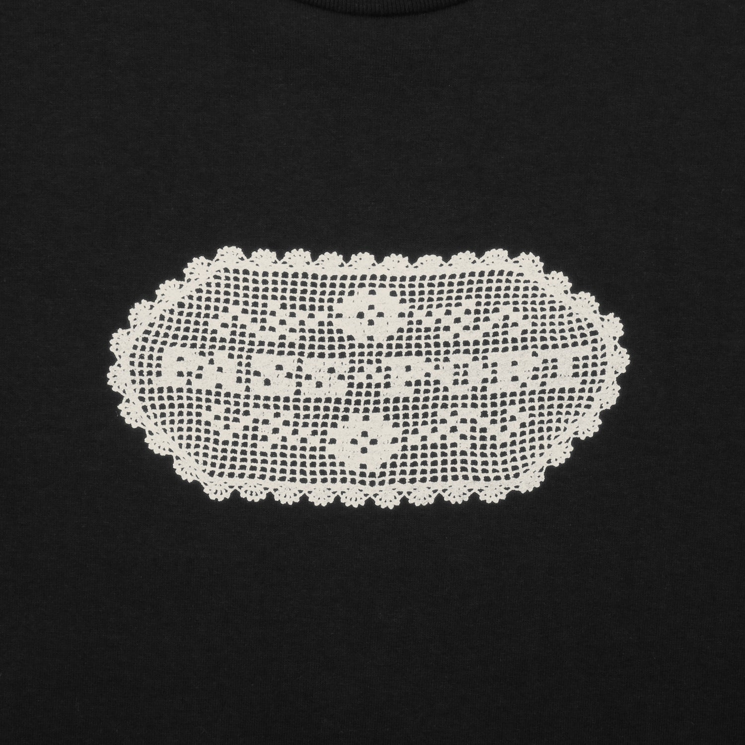 "PASS~PORT ""DOILY DANCER"" TEE BLACK"
