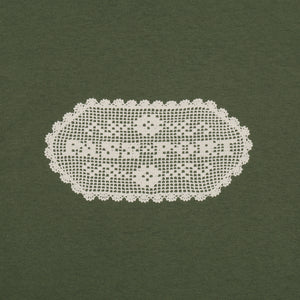 "PASS~PORT ""DOILY DANCER"" TEE MILITARY GREEN"