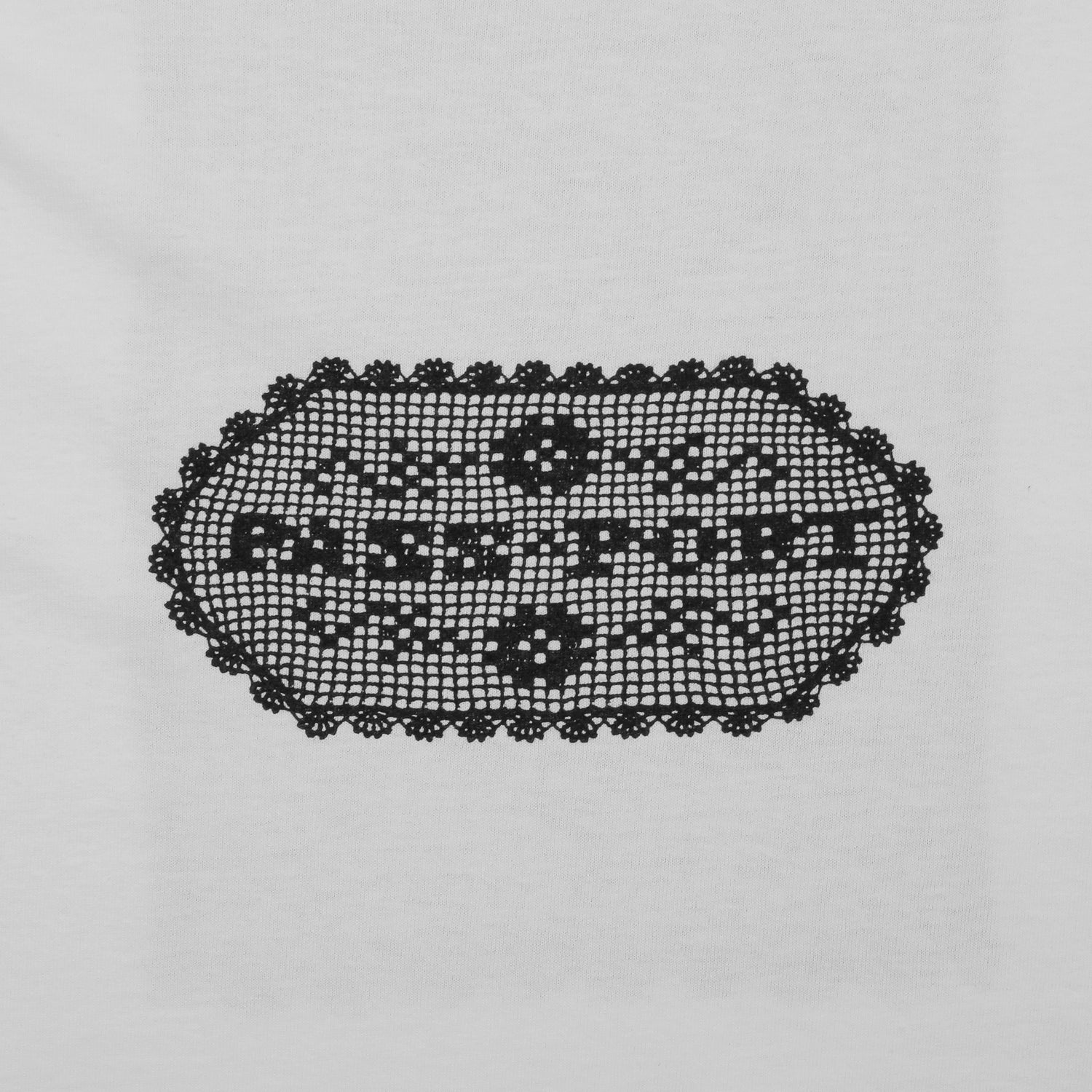 "PASS~PORT ""DOILY DANCER"" TEE WHITE"
