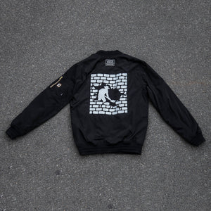 VANS & PASS~PORT BOMBER JACKET BLACK