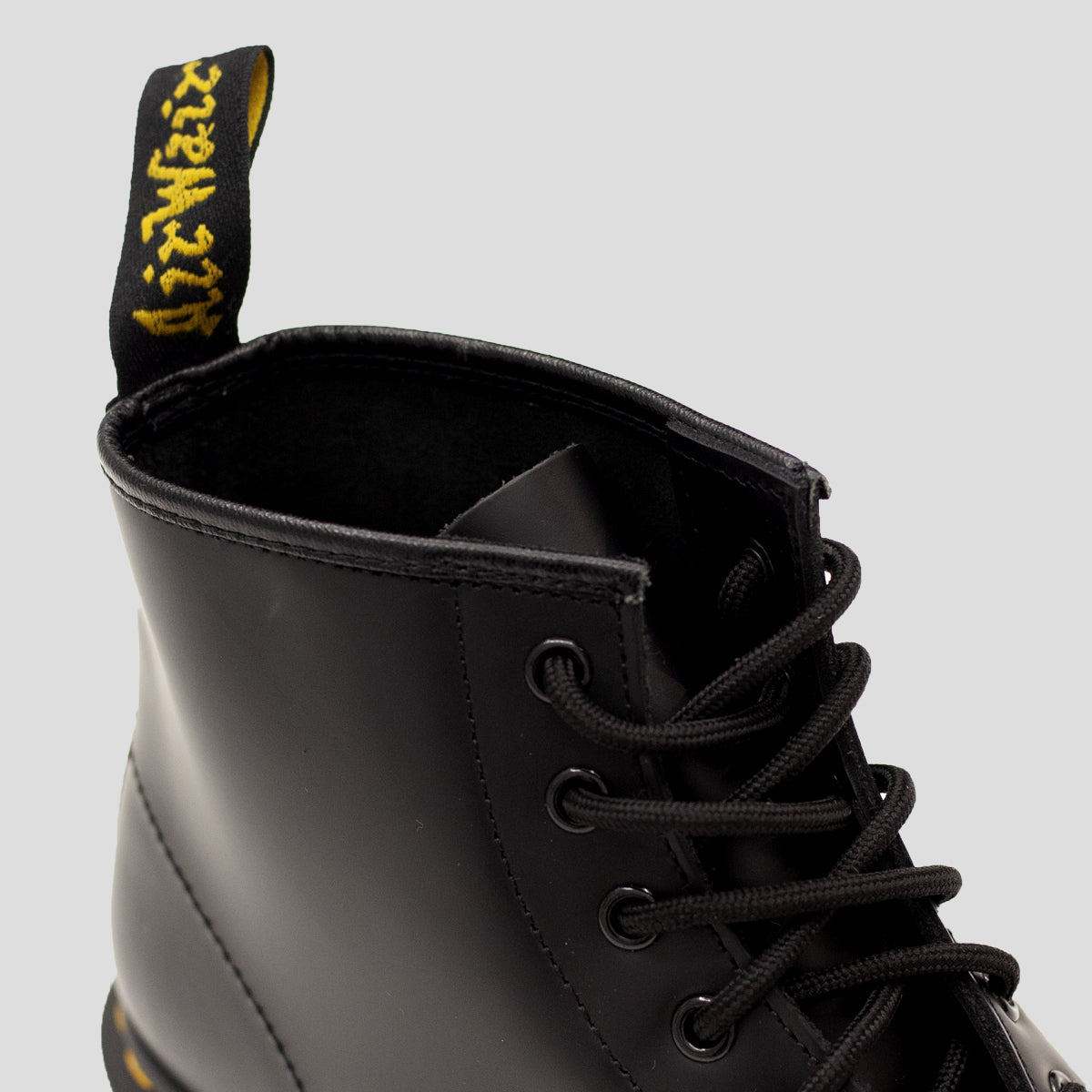 "DR. MARTENS ""101 6 EYE BOOT"" BLACK"