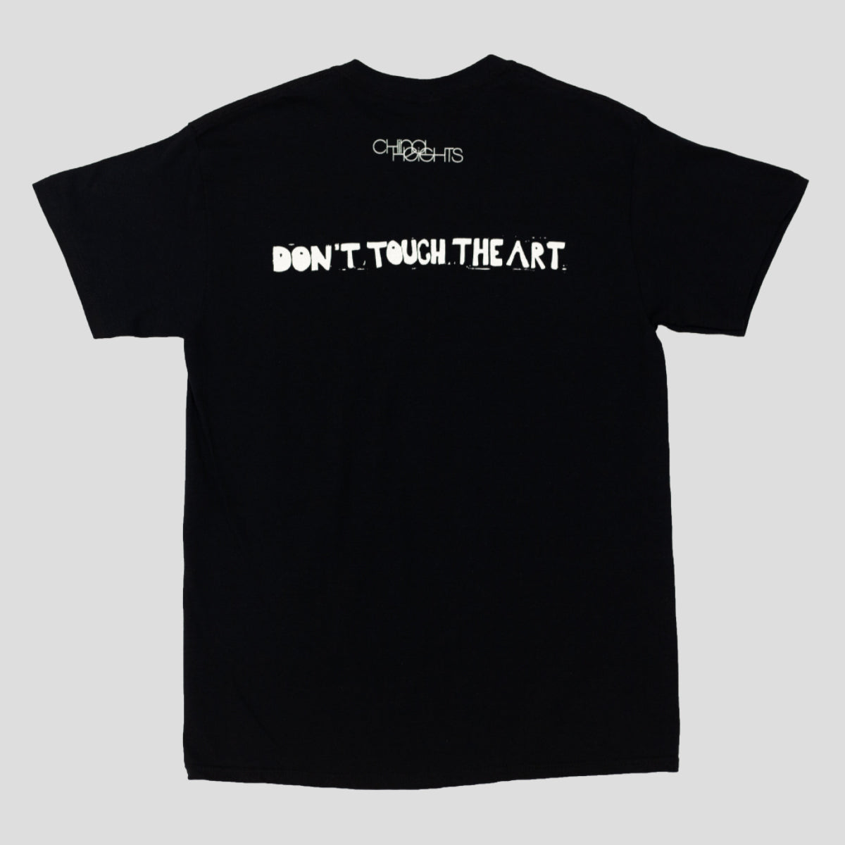 "CHINA HEIGHTS ""DONT TOUCH THE ART"" TEE BLACK"