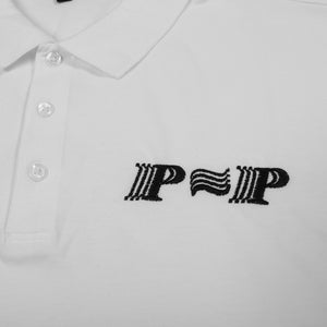 "PASS~PORT ""PPP"" L/S POLO WTE"