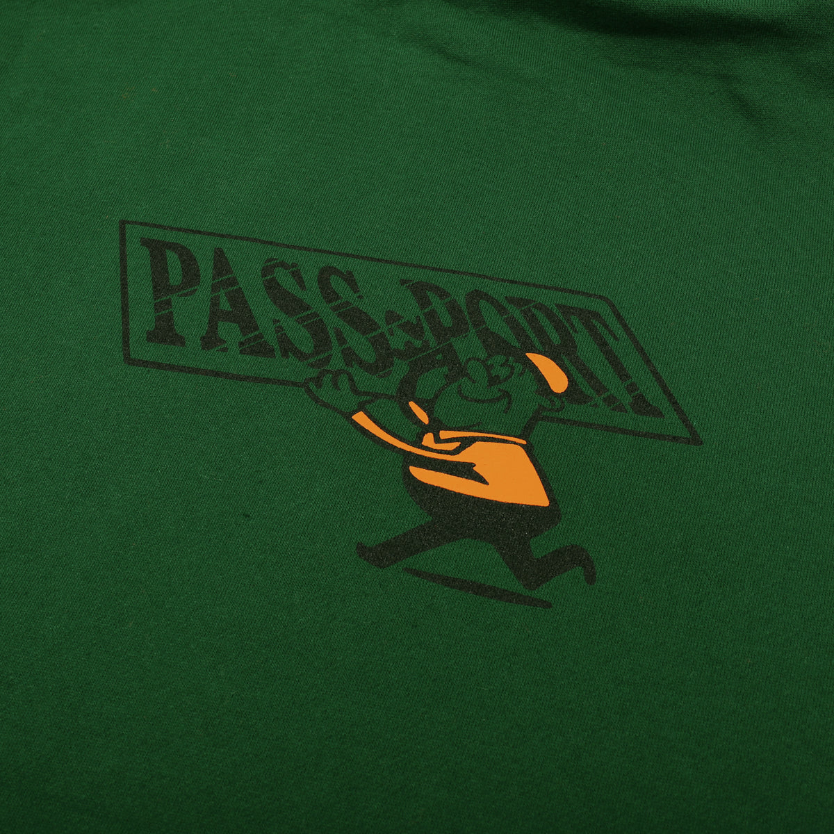 "PASS~PORT ""MIRROR MAN"" HOOD GREEN"