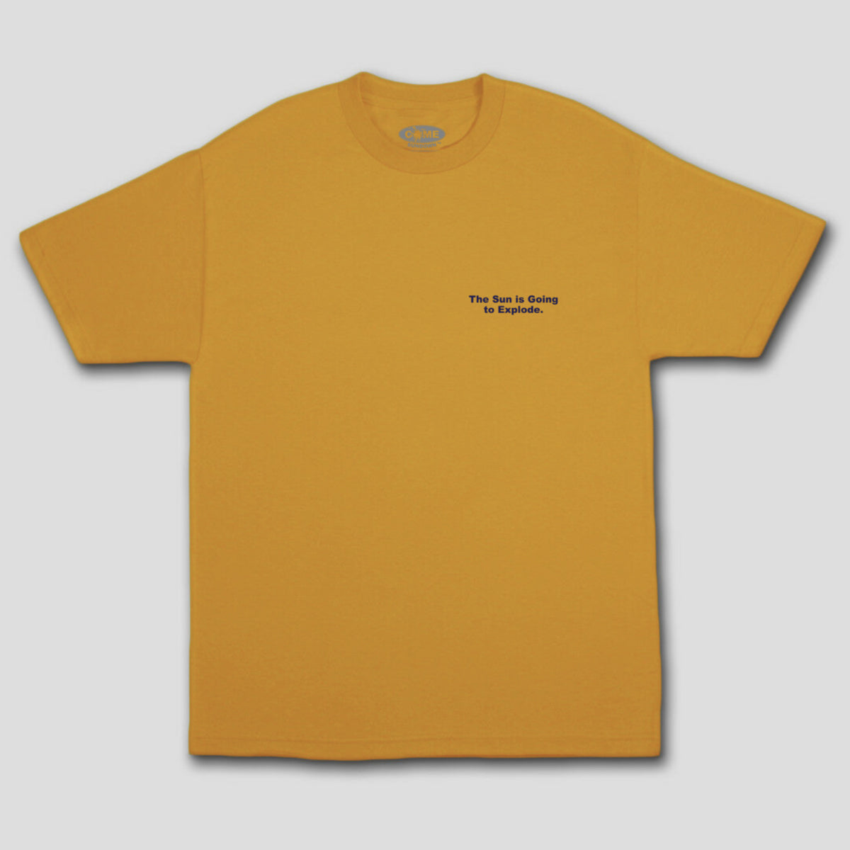 "COME SUNDOWN ""EXPLODE"" TEE GOLD"