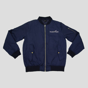 "PASS~PORT ""LAVENDER"" FREIGHT JACKET NAVY"