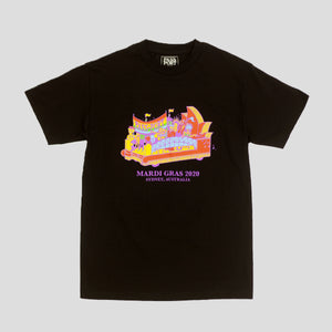 "PASS~PORT ""FLOAT"" TEE BLACK"